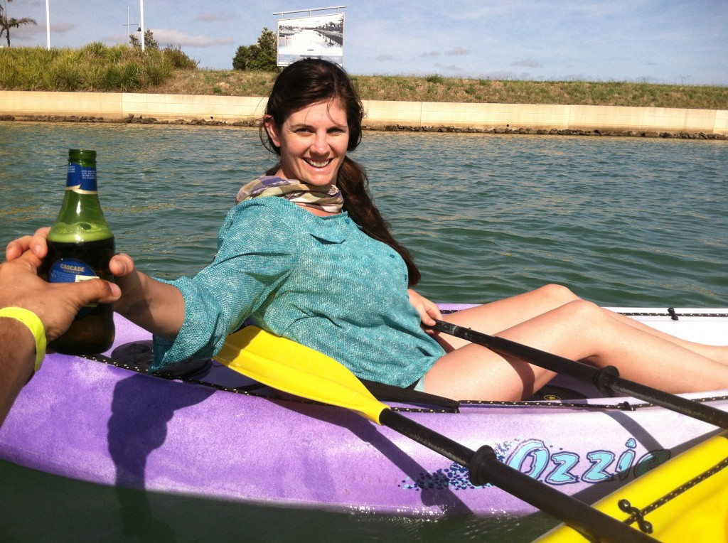 Kayaking with Lauren in Mount Martha