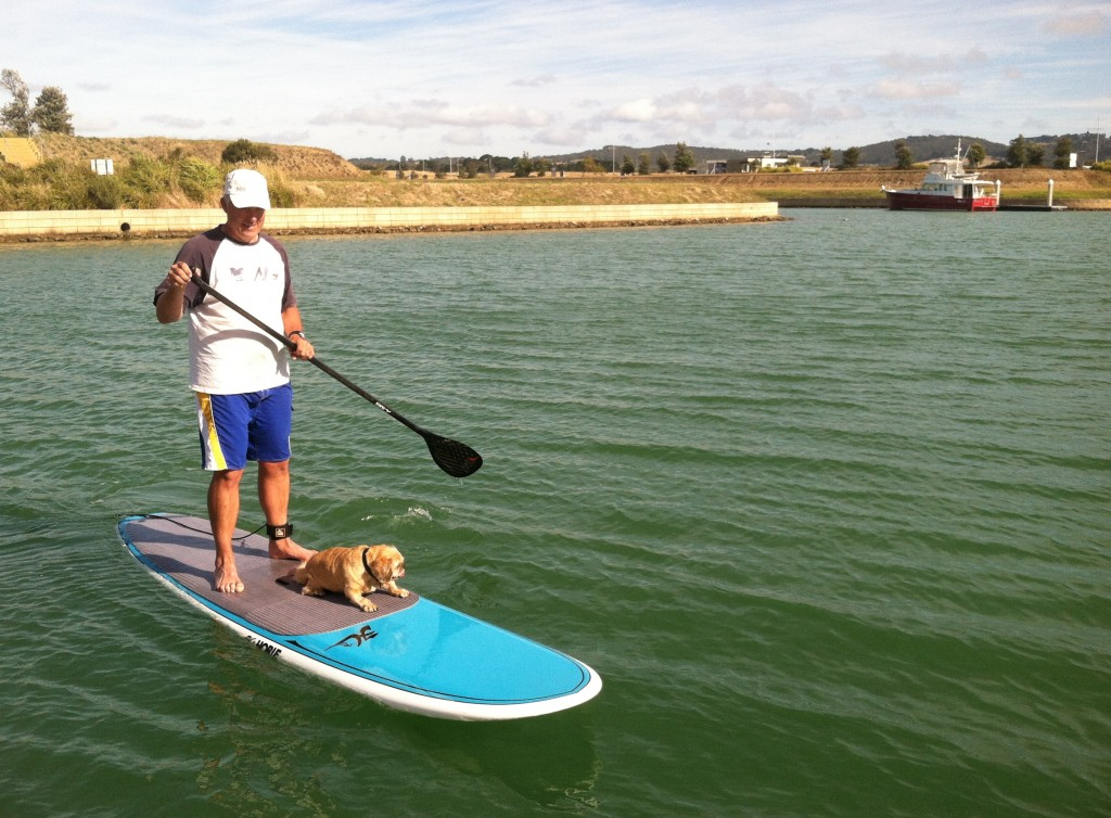Paddleboarding in Mount Martha
