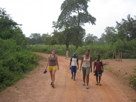 Hiking in Ghana
