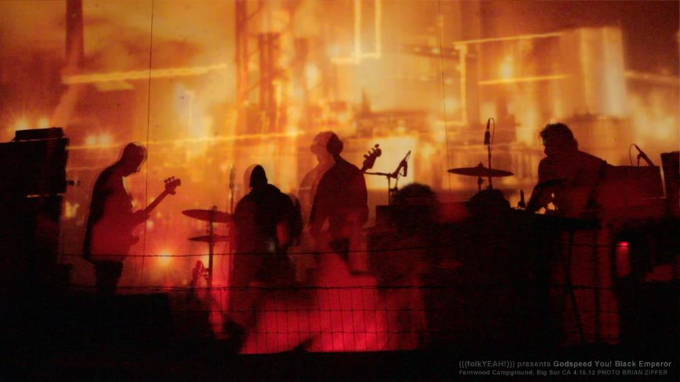 Godspeed You! Black Emperor in Big Sur, photo by Brian Ziffer
