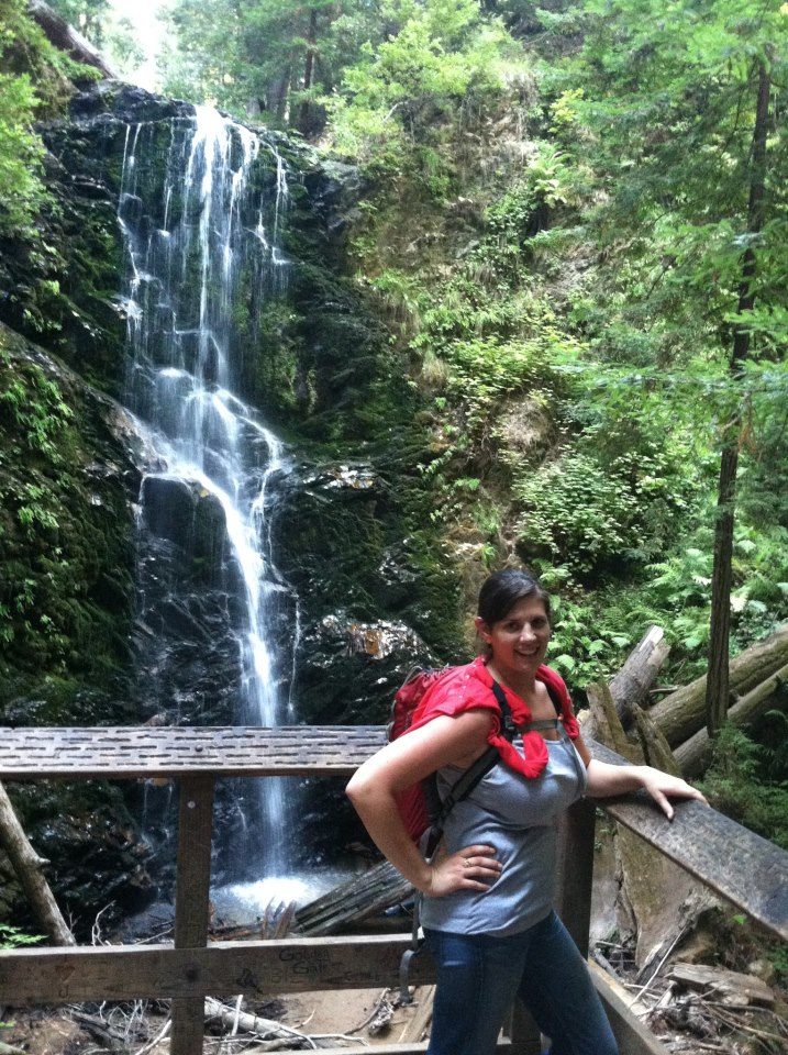 Lauren at Berry Creek Falls
