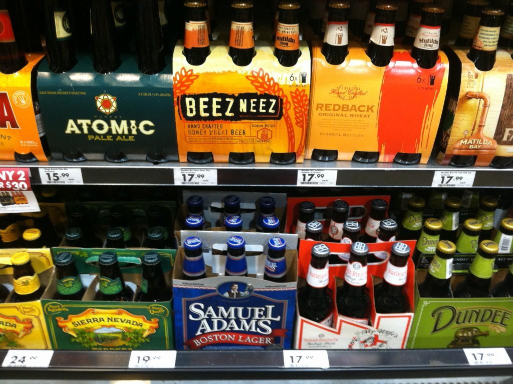 Expensive booze in Australia