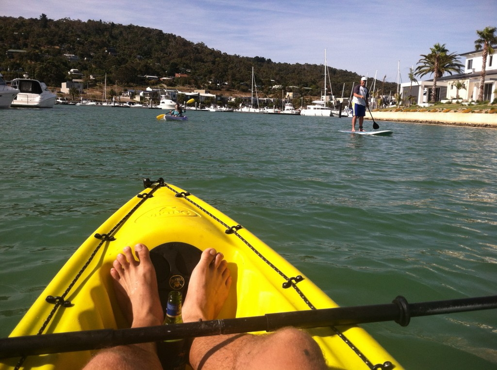 Kayaking in Mount Martha 01
