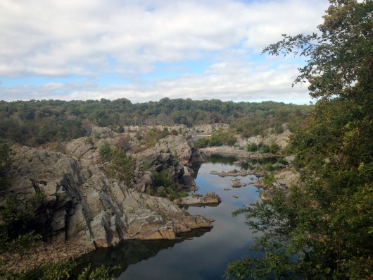 Great Falls Outlook on C&O Canal Trail