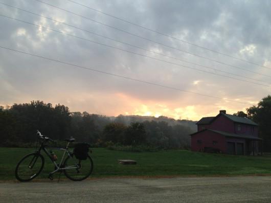 Bike on GAP Trail in Belle Vernon