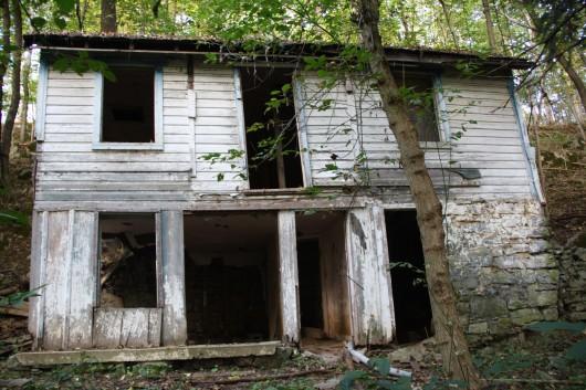 Abandoned House along C&O Canal #1