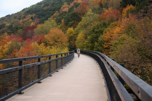Crossing the The Keystone Viaduct