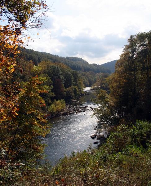 A shot of the Casselman River