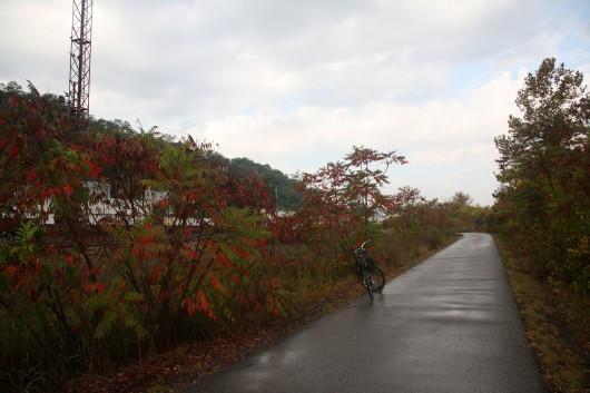 Bike on GAP Trail outside Pittsburgh