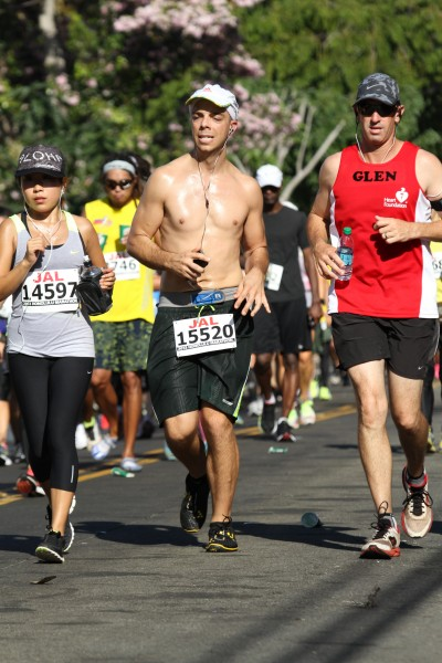 Feet hurtin' at the 2013 Honolulu Marathon