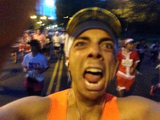 2013 Honolulu Marathon selfie