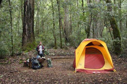 Butano Trail Camp