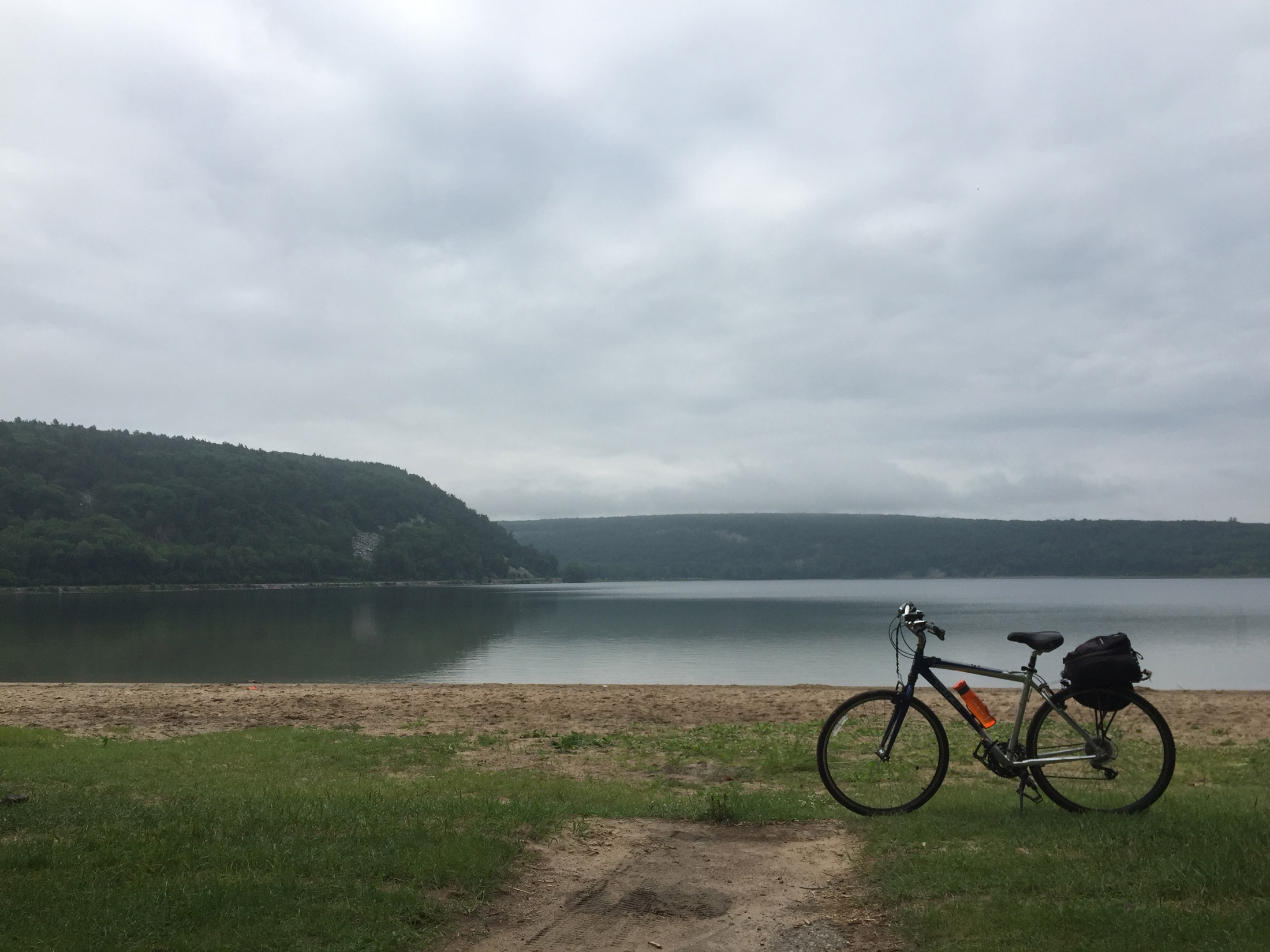 Touring the midwestern us on a bike for Devils lake state park cabins