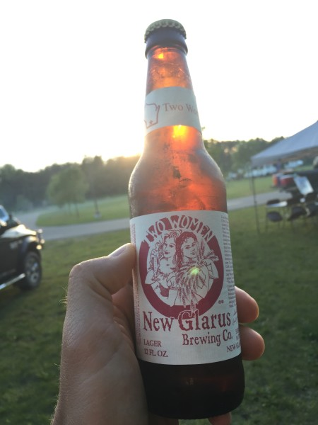 New Glarus Two Women beer in Wisconsin