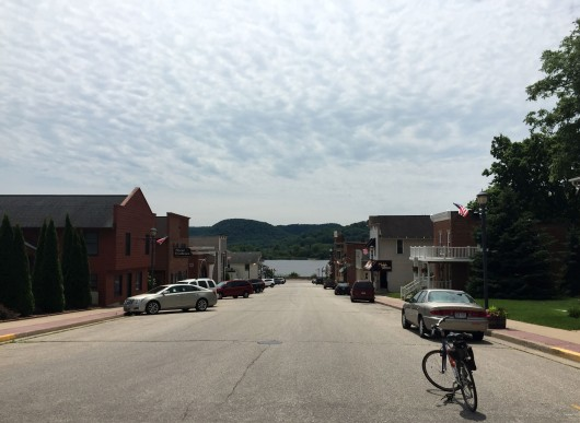 Downtown Trempealeau
