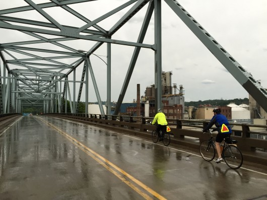 Rainy Bridge from Hager City, WI to Red Wing, MN