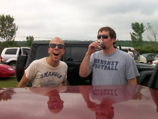 Kyle and I at Camp Bisco in 2010